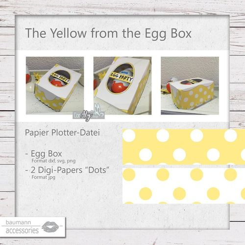 The yellow from the egg