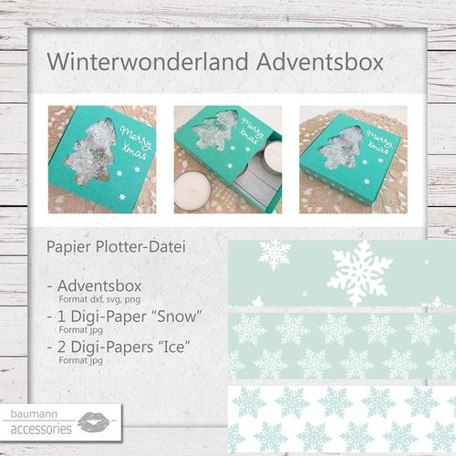 Winterwonderland Adventsbox