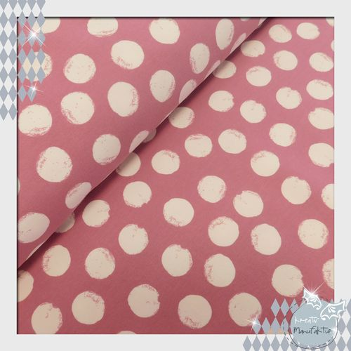 Bio-Sweat Punkte Mellow Dots vintage-rose
