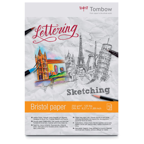Tombow Bristol Paper Sketching Lettering Block