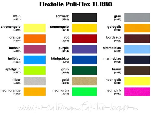 TURBO Flexfolie Poli-Flex