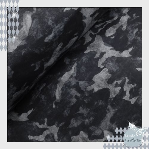 Softshell 3 Layer Camouflage grau