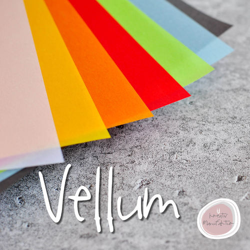 Vellum Transparent Papier