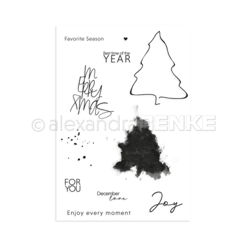 Alexandra Renke ClearStamps Favorite Season