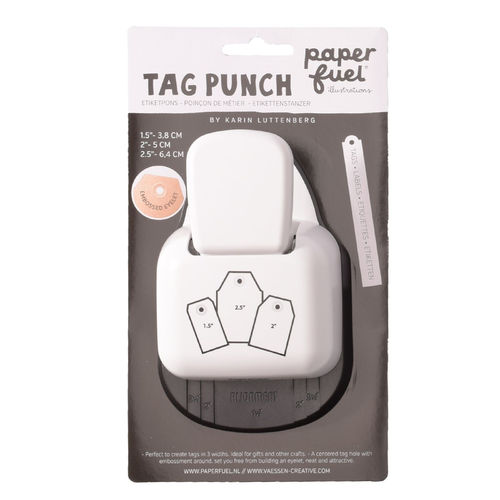 PunshTag Paperfuel Motivstanzer 3 in 1 label