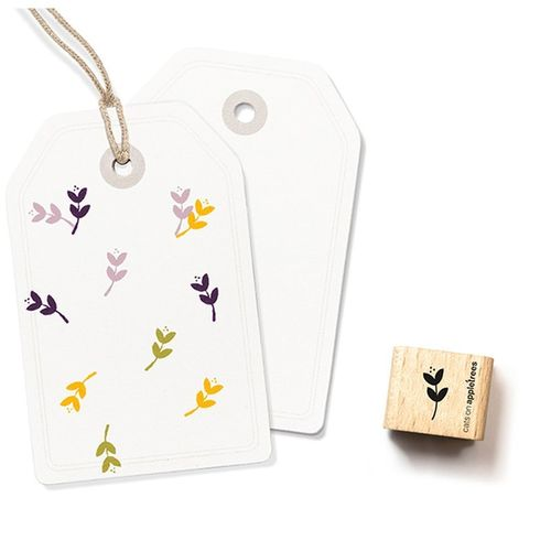 Ministempel Cats on appletrees kleine Blüte 4