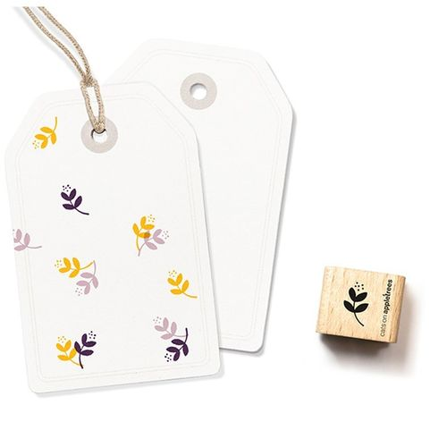 Ministempel Cats on appletrees kleine Blüte 5
