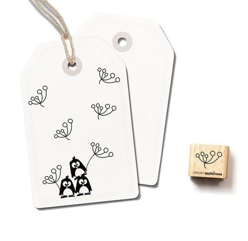 Ministempel Cats on appletrees Blüte 7