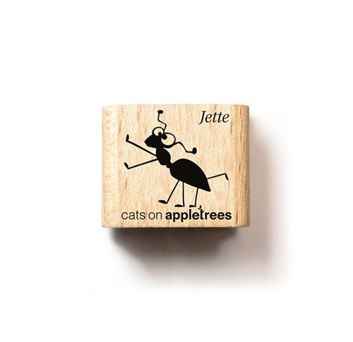 Ministempel Cats on appletrees Ameise Jette