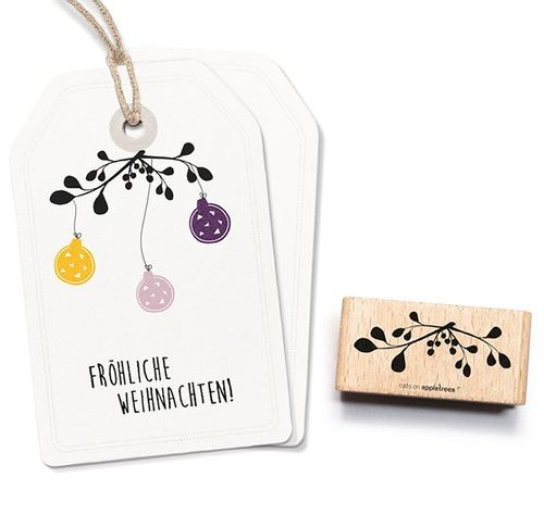 Stempel Cats on appletrees Mistelzweig